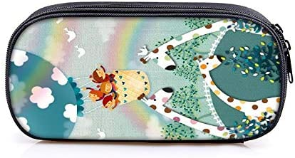 Pallima Pencil Case Globo aerostático 1.8L Estuche para lápices Estuches cosméticos para Adolescentes niños Escolares Monedero Bolsas de Maquillaje 6: Amazon.es: Hogar