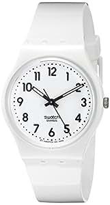 Swatch Women's GW151 White Plastic Watch