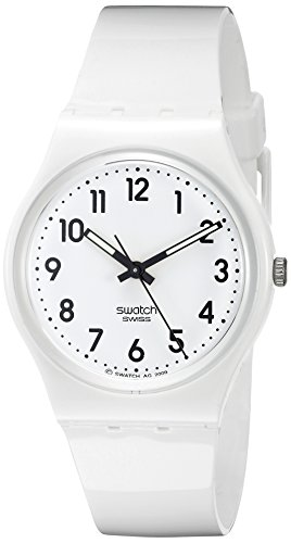 Swatch Women's GW151 White Plastic Watch