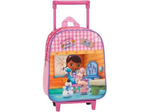 Josman Children's Luggage S800236 Doc Mcstuffins pink - pink S800236 by