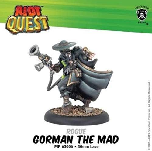 Riot Quest: Gorman The Mad Rogue (Metal Blanco): Amazon.es: Juguetes y juegos