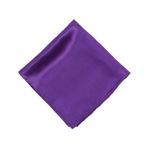 (Royal Purple Royal Purple Silk Pocket Square)