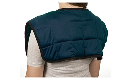(PU Health Pure Acoustics Blue Lumbar Hot or Cold Therapy Shoulder Wraps)