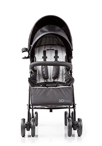 Summer Infant 3Dtwo Double Convenience Stroller, Gray Squared by Summer Infant (Image #2)
