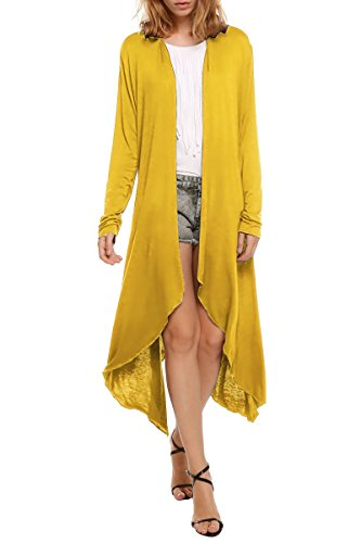 Meaneor Womens Waterfall Asymmetric Cardigan product image