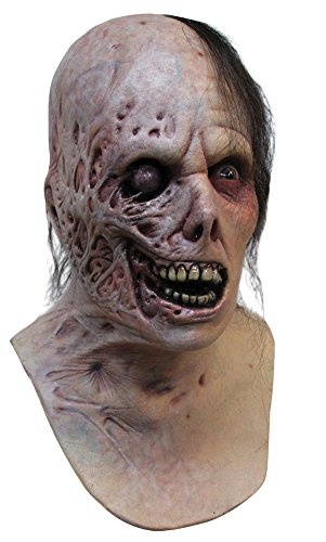 DISC0UNTST0RE Burnt Horror Adult Latex Mask Halloween Costume - Most Adults