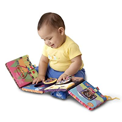 Lamaze High-contrast Discovery Shapes Activity Puzzle Crib Gallery by TOMY