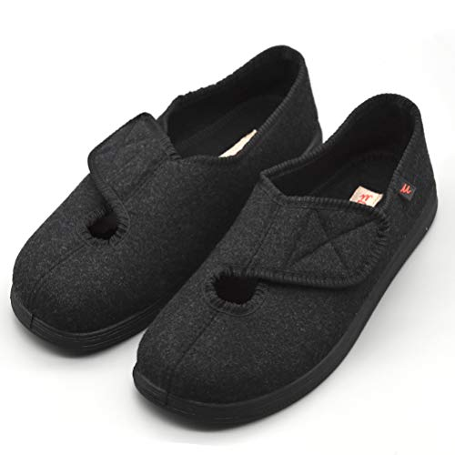 AOIREMON Women Diabetic Shoes Extra Wide Slippers Adjustable Edema Shoes for Pregnant Elderly People Arthritis Edema Slippers.