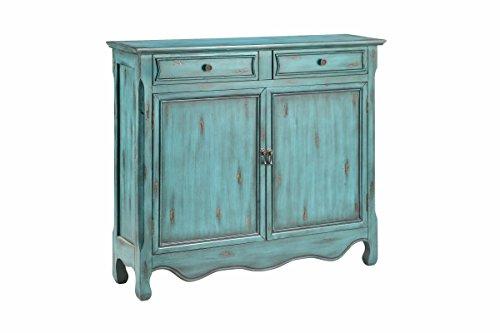 Stein World Furniture 2-Door Cabinet, Dark Blue