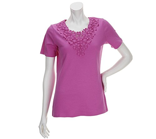 liz-claiborne-new-york-short-sleeve-lace-detail-knit-t-shirt