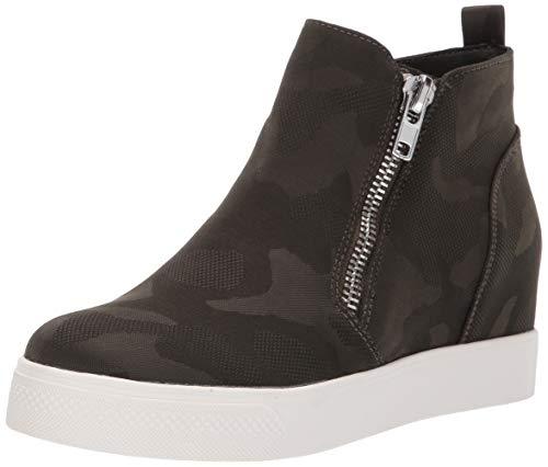 Steve Madden Women's Wedgie Sneaker camo 8.5 M ()