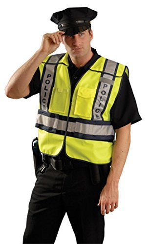 OccuNomix POLICE - Public Safety Vest - ANSI Class 2 - Break-away - 3X/4X by by OccuNomix (Image #1)