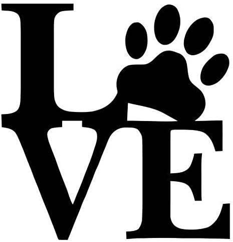 Vintage Dog Paw Camping Best Gift For Puppies Lover Sticker Vinyl Decal Wall Laptop Window Car Bumper Sticker 5