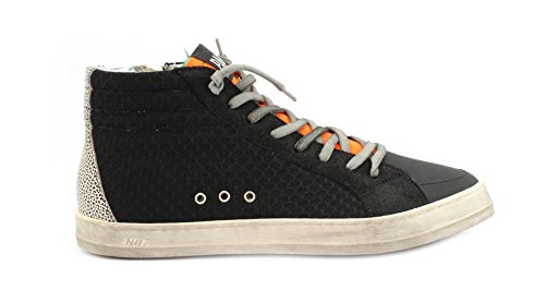 P448 Sneaker E8SKATE Black Tec