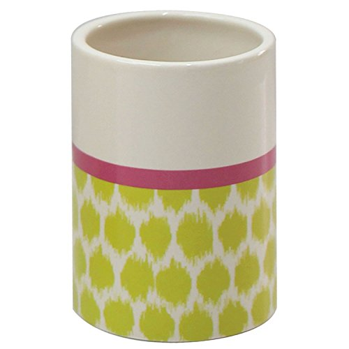 Waverly Optic Delight Tumbler (Waverly Cotton Shower Curtain)