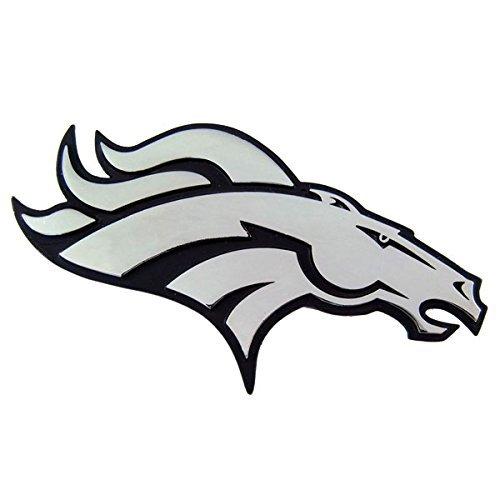 Denver Broncos Heavy-Duty Metal Auto Emblem