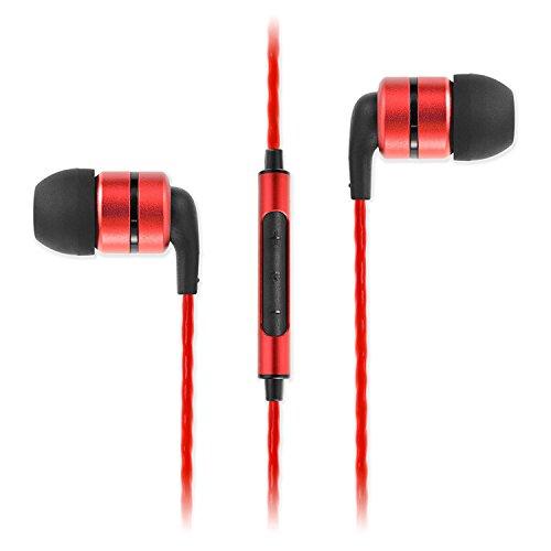 Bonus Pack! SoundMAGIC E80C Red Reference Series Noise Isola