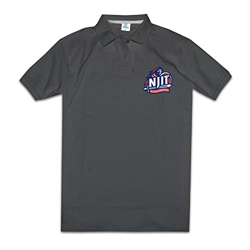 Men's NJIT Highlanders Solid Polo Shirt Size XL