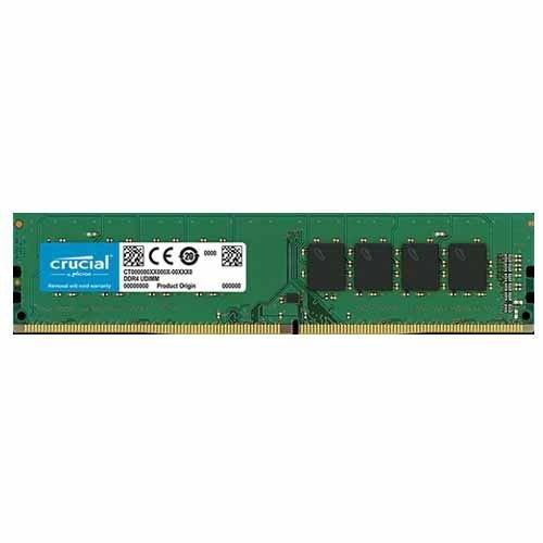 Micron Memoria Crucial Desktop 4Gb DDR4 2400Mhz, Preto