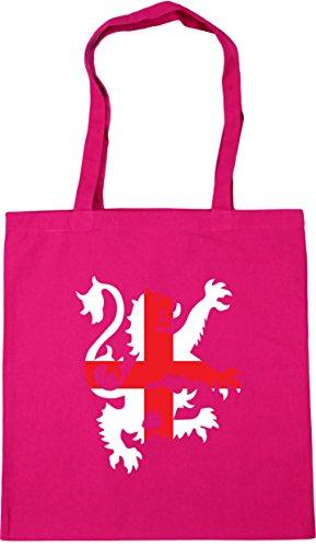 10 lion litres x38cm HippoWarehouse 42cm england Fuchsia Tote flag Gym Football Shopping Beach Bag ZxpwP
