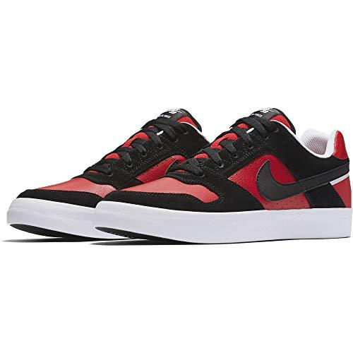 nike   (m) sb delta force vulc skateboard chaussures (11 d (m)  us) noir, rouge de l'université « blc» 626b35