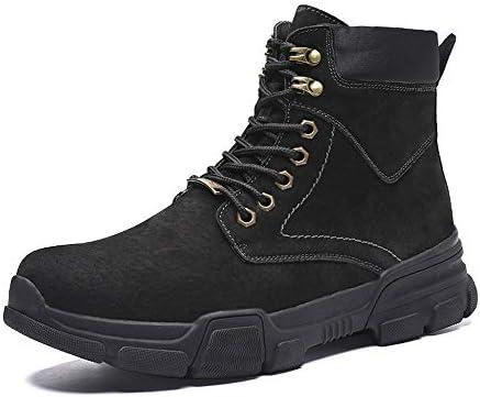 古典的なメンズファッションアンクルブーツカジュアルハイトップレースアップアウトドアビッグサイズ作業ブーツ 快適な男性のために設計