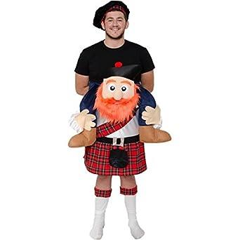 Disfraz de Escoces a Hombros - Unisex, L: Amazon.es: Ropa y accesorios