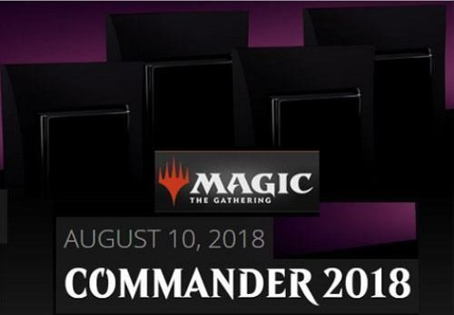 MTG Magic The Gathering 2018 Commander Set – All 4 Decks