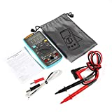 Akozon Handheld Digital Multimeter, RICHMETERS Multifunctional DMM-True RMS -measure AC/DC Voltage, AC/DC Current, Resistance, Capacitance, Diode and Continuity testing, Temperature(RM102)