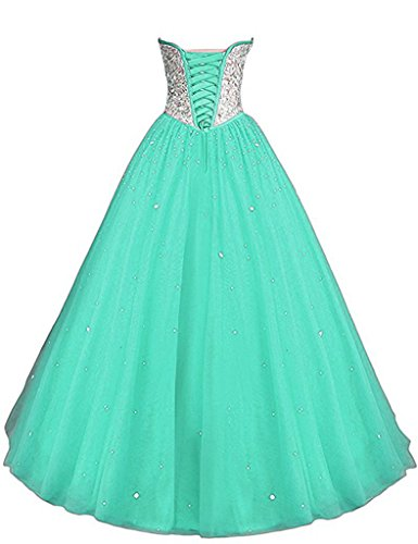 Crystals Sequined Corset Quinceanera Dresses product image