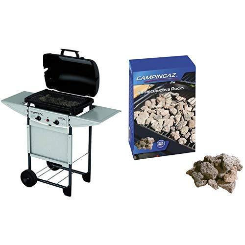 Campingaz Expert Plus Barbacoa gas piedra volcanica + Campingaz ...