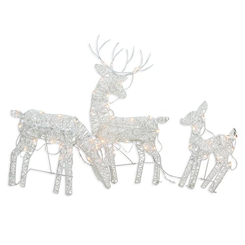 Outdoor Lighted Reindeer For Christmas in US - 1