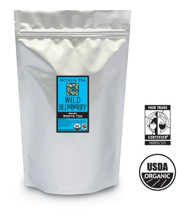 Octavia WILD BLUEBERRY organic white tea (bulk)