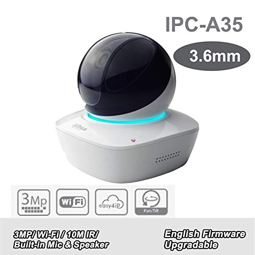 Dahua 3MP A Series Wi-Fi Network PT Camera IPC-A35 HD 1080P 3 6mm Lens  Network IP Camera Built-in Mic Speaker Baby Monitor