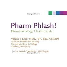 Pharm Phlash!: Pharmacology Flash Cards 1st Edition by Leek MSN RN CMSRN, Valerie I. (2008) Cards