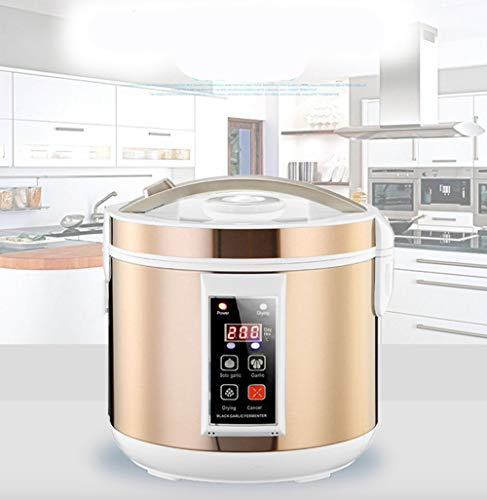 Black Garlic Fermenter, HomeYoo Black Garlic Ferment Box, Smart Fermentation Machine, Full Automatic Intelligent Control Garlics Maker Multiple Clove Garlic DIY Cooker, Home/Kitchen Utensil (Golden) by HomeYoo (Image #3)