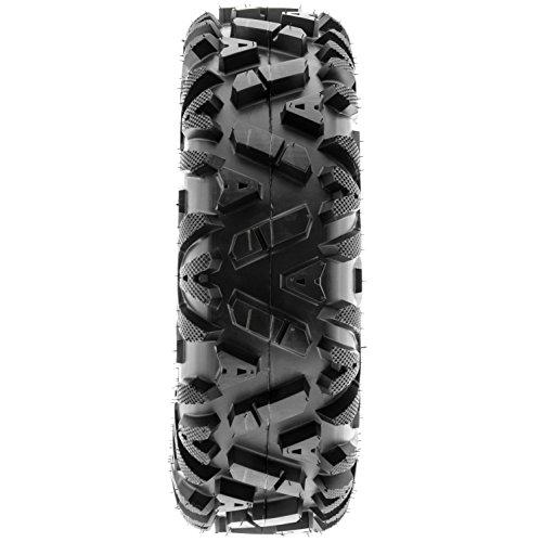 SunF Power.I 25 inch ATV UTV all-terrain Tires 25x8-12 & 25x11-12, 6 PR Front & Rear Set of 4 A033, Tubeless by SUNF (Image #4)