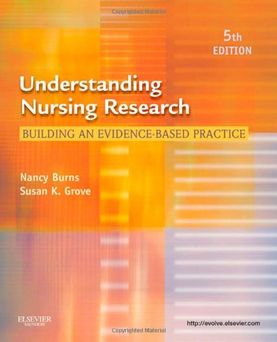 Understanding Nursing Research: Building an Evidence-Based Practice, - Pa In City Stores Grove