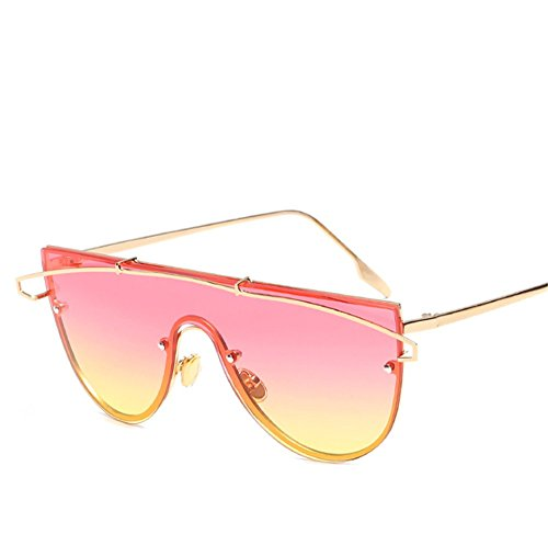 Europea Gafas Americana Sol De De Y Pieza Tendencia Gafas Protección De Océano Una De UV Sol Nuevas De De Película 2 Personalidad Océano 1 2018 Lente waAxxp6Inq
