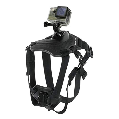 Hound Dog Fetch Harness Adjustable Chest Strap Mount for - Photography & Camera Acc Sports Camera & Accessories - 1 x Dog Harness Strap -