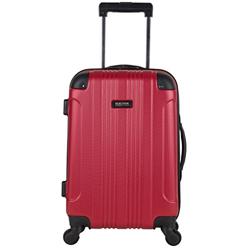 Kenneth Cole Reaction Out Of Bounds 20-Inch Carry-On Lightweight Durable Hardshell 4-Wheel Spinner Cabin Size Luggage ()