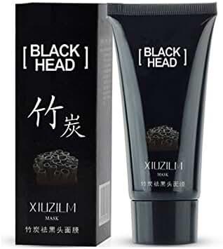 Blackhead Remover Mask,Black Head Facial Mask Deep Cleansing Purifying Peel-off Mask,Black Mud Face Mask,Blackhead Cleansing Mask,60 ml