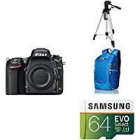 Nikon D750 FX-format Digital SLR Camera Body AmazonBasics Accessory Bundle