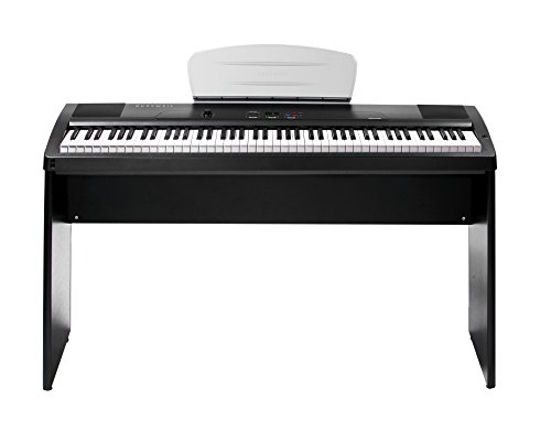 kurzweil mps10 88 key portable pro sumer home piano with hammer action keybed piano buy. Black Bedroom Furniture Sets. Home Design Ideas