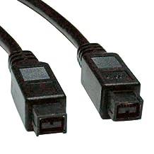 Tripp Lite F015-010 10 -Feet IEEE 1394b Firewire 800 Gold Hi-speed Cable, 9pin/9pin