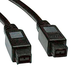 Tripp Lite FireWire 800 IEEE 1394b Hi-speed Cable (9pin/9pin) 6-ft.(F015-006)