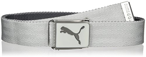 Puma Golf Cuadrado Web Belt, - Belt Embossed Cotton