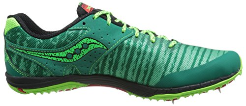 Saucony Men's Kilkenny XC5 Cross-Country Shoe Green/Citron/Red buy cheap pay with visa cheap explore newest online quality from china cheap 6WKDJvqo