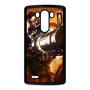 LG G3 Cell Phone Case Black League of Legends Hired Gun Graves SH3019833