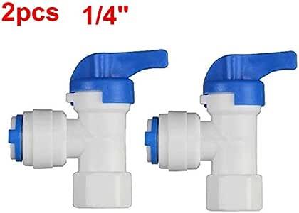 Secure expendedora Suecia 2 pcs Agua partes de filtro 1/4